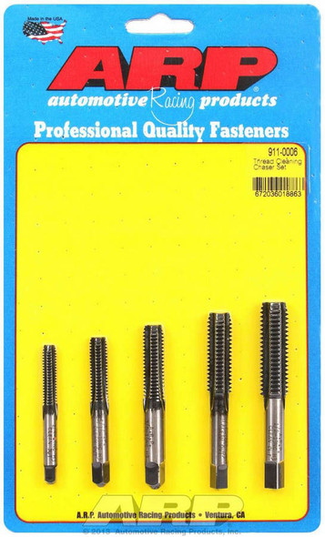 ARP ARP911-0006 Thread Cleaning Tap Set 5pc. Performance Oil Shop