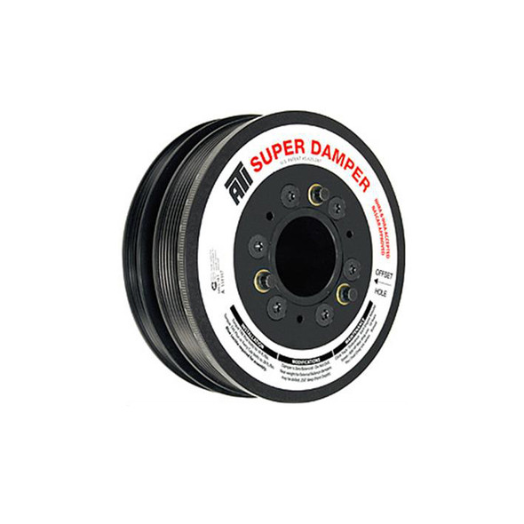 ATI PERFORMANCE ATI916163-10 Supercharger Pulley 8.800 Dia. 8-Groove Performance Oil Shop