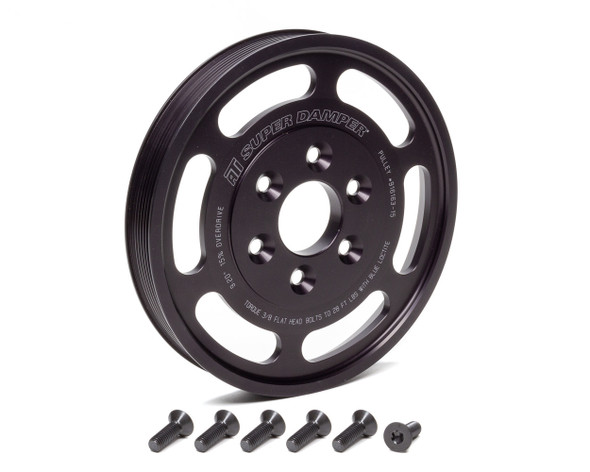 ATI PERFORMANCE ATI916163-15 Supercharger Pulley 8.597 Dia. 8-Groove Performance Oil Shop