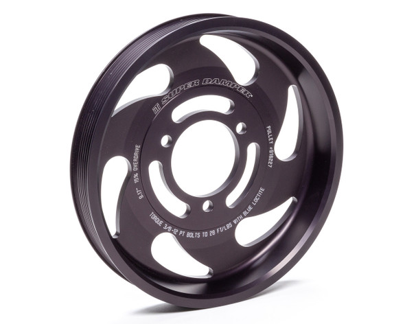 ATI PERFORMANCE ATI916227 Pulley - Supercharger 9.34 Dia 8-Groove Performance Oil Shop