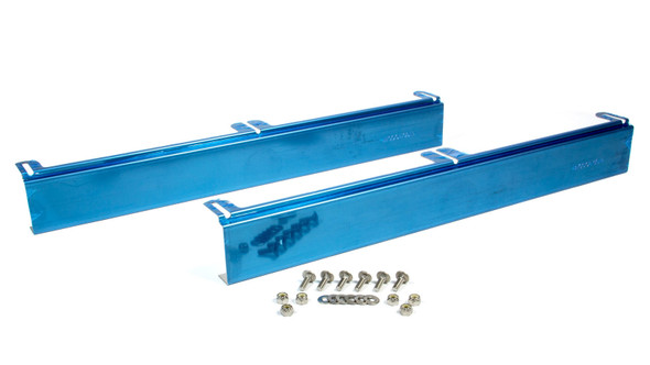 BE-COOL RADIATORS BEC72036 Stainless Steel Upper - Lower Mounting Brackets Performance Oil Shop