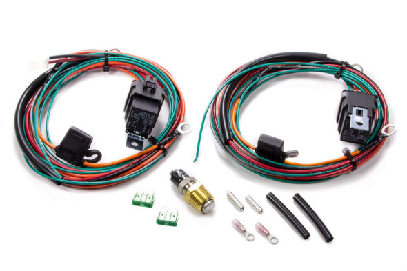 BE-COOL RADIATORS BEC75117 Wiring Harness Kit For Dual Fans Performance Oil Shop