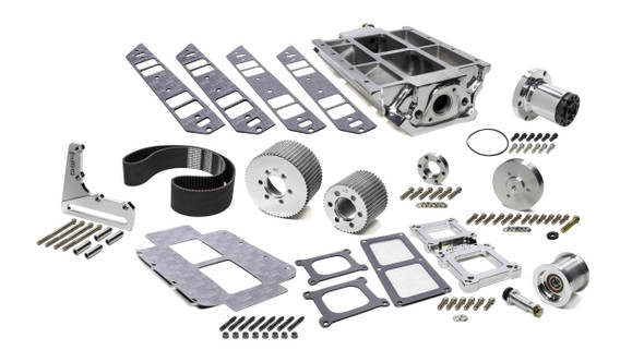 THE BLOWER SHOP BLS2711 BBC Intake & 671 Drive Accessory Kit 2V. Performance Oil Shop