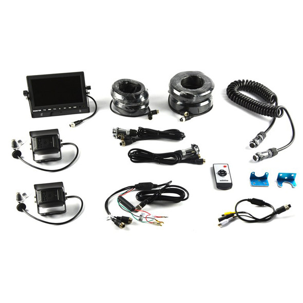 BRANDMOTION BRD9002-7803 Universal Trailer Vision System w/7in Monitor Performance Oil Shop