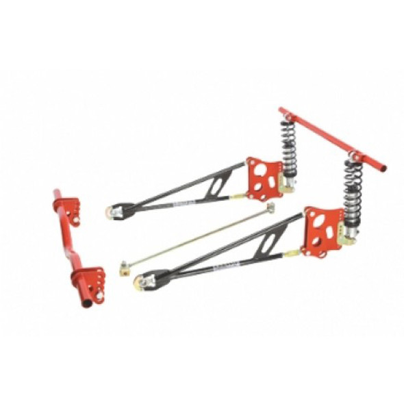 CHASSIS ENGINEERING CCE3634 Ladder Bar Suspension Kit w/Shocks Performance Oil Shop