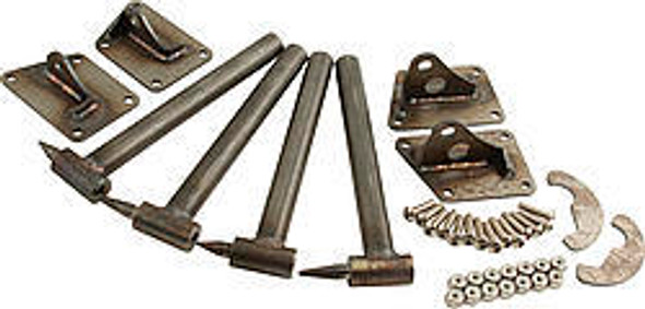 CHASSIS ENGINEERING CCE4121 L/W Door Hinge Kit - 2-pc. (Pair) Performance Oil Shop