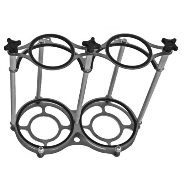 CHASSIS ENGINEERING CCE5500A Dual Nitrous Bottle Bracket Stand-Up Style Performance Oil Shop