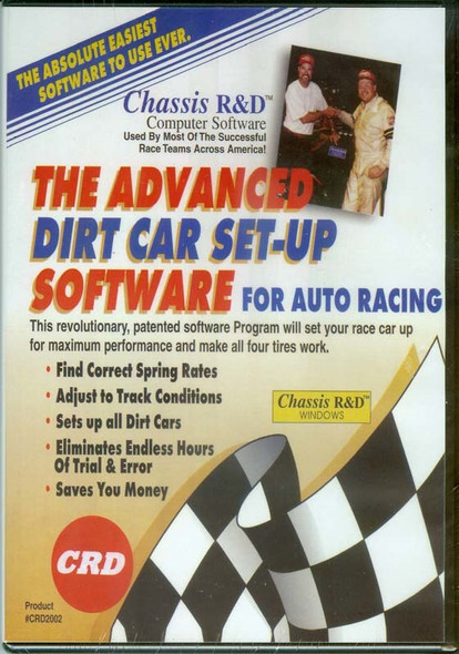 CHASSIS R AND D CRD2002 The Advanced Dirt Car Set-up Performance Oil Shop