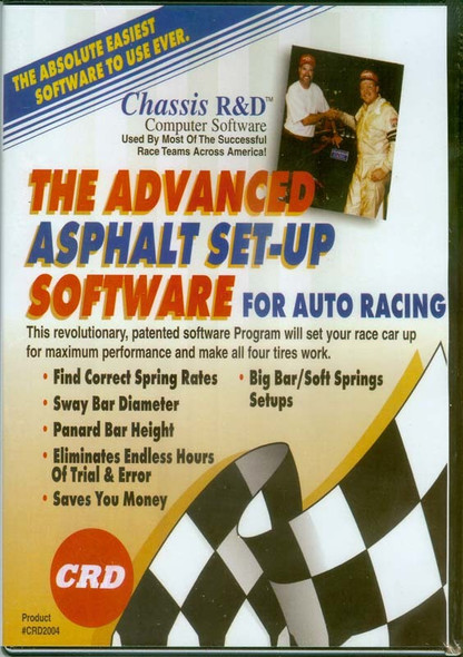 CHASSIS R AND D CRD2004 The Advanced Asphalt Set-up Performance Oil Shop