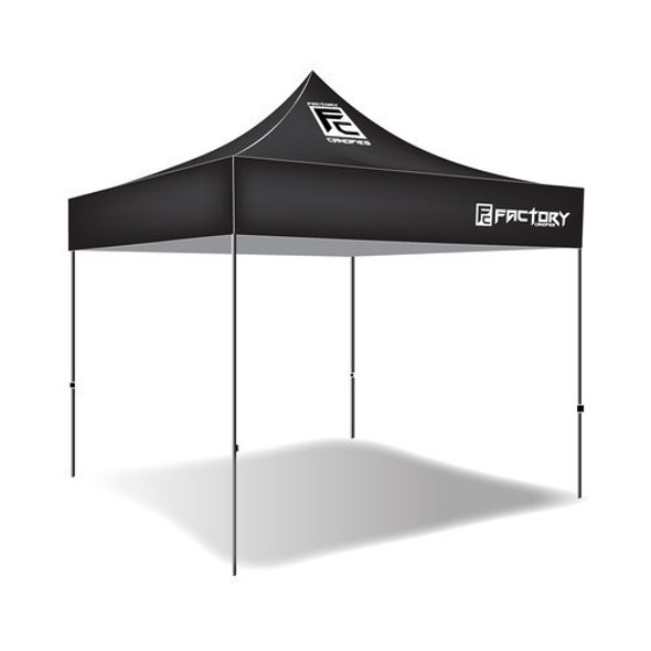 FACTORY CANOPIES FAC30001 Canopy 10ft x 10ft Black Performance Oil Shop