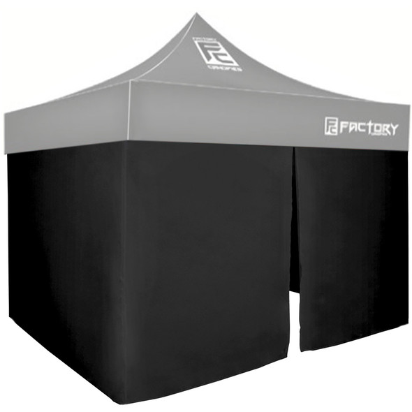 FACTORY CANOPIES FAC40001-KIT Wall Kit Black 10ft x 10ft Canopy Performance Oil Shop