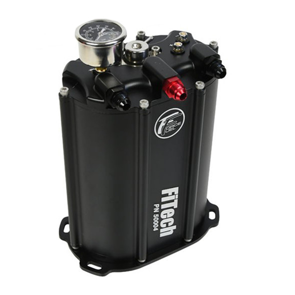 FiTECH FUEL INJECTION FIT50004 340LPH Force Fuel System Black Finish Performance Oil Shop