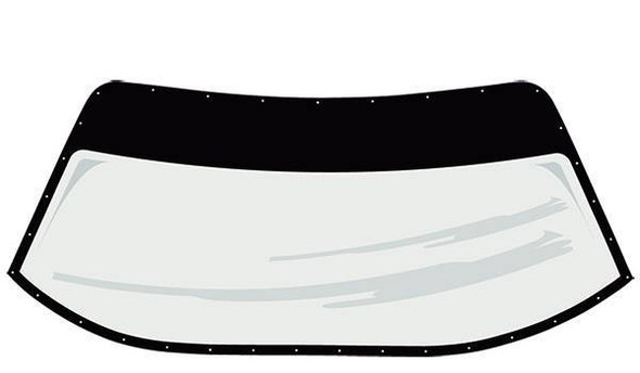 FIVESTAR FIV664-6325-2B S2 Windshield Pre-Cut and Drilled w/ Blackout Performance Oil Shop