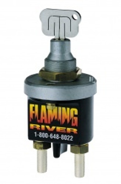 FLAMING RIVER FLAFR1009 Battery Disconnect Laser Cut Key Switch Performance Oil Shop