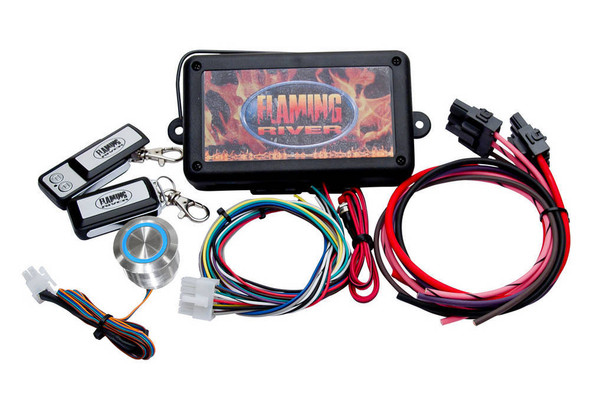 FLAMING RIVER FLAFR60004 Programmable Keyless Ignition Dash Mount Performance Oil Shop