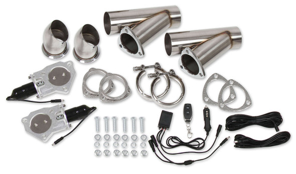 HOOKER HKR11051 Exhaust Electric Cut-Out Kit - Dual 2.5in Performance Oil Shop