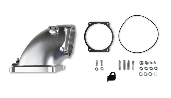 HOLLEY HLY300-253 Billet Elbow Kit GM LS to 4500 - Silver Performance Oil Shop