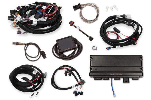 HOLLEY HLY550-917 Term X Max MPFI Kit LS Early Truck w/Trans Cont Performance Oil Shop