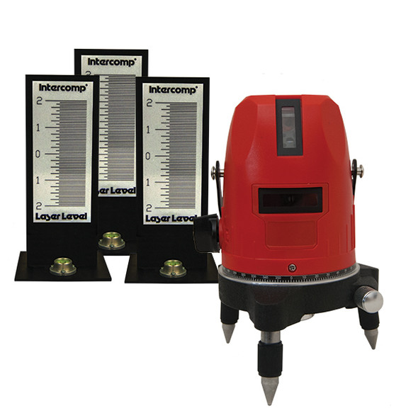 INTERCOMP INT171007 Laser Leveling System For Scale Pads Performance Oil Shop