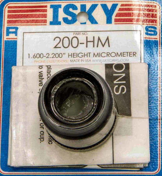 ISKY CAMS ISK200-HM Height Mic  Performance Oil Shop