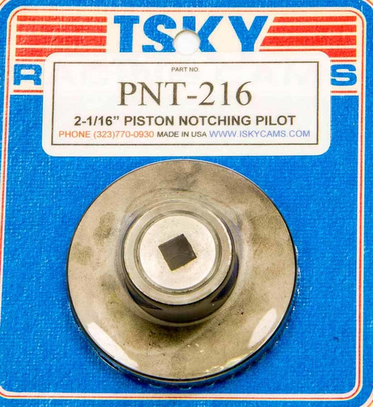 ISKY CAMS ISKPNT-216 Piston Notching Cutter 2-1/16in Performance Oil Shop