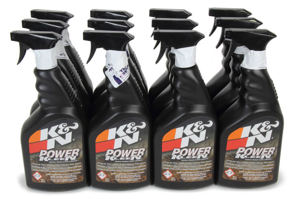 K AND N ENGINEERING KNE99-0621-12 Air Filter Cleaner & Deg reaser Case 12x32Oz Performance Oil Shop