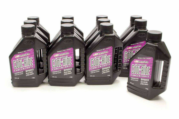 MAXIMA RACING OILS MAX84916 Cool-Aide Coolant Case 12x16oz Concentrate Performance Oil Shop