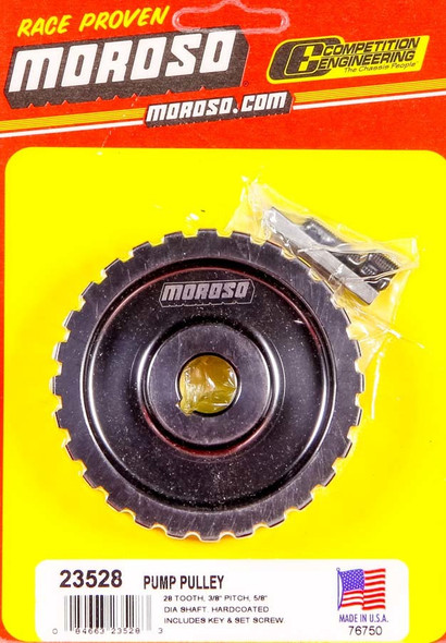 MOROSO MOR23528 Gilmer Pulley 28 Tooth  Performance Oil Shop