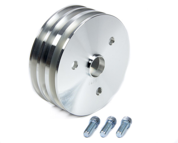 MARCH PERFORMANCE MPP5091 Crank Pulley SBC SWP 3 Groove Performance Oil Shop