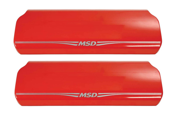 MSD IGNITION MSD2970 Atomic LS Coil Cover Red Performance Oil Shop