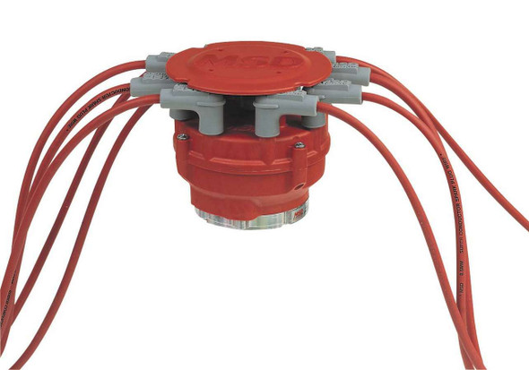 MSD IGNITION MSD7445 Pro Distributor Cap Male Tower and Rotor Performance Oil Shop