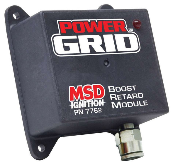 MSD IGNITION MSD7762 Boost Retard Module for Power Grid Performance Oil Shop