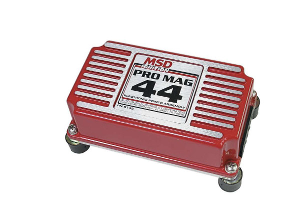 MSD IGNITION MSD8145 Electronic Points Box - Pro Mag 44 Amp Performance Oil Shop