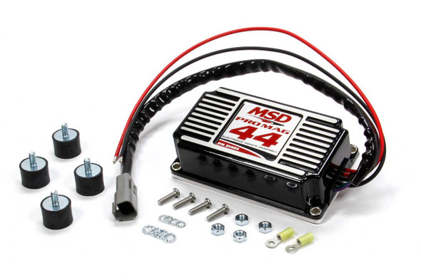 MSD IGNITION MSD81453 Electronic Points Box - Pro Mag 44 Amp Black Performance Oil Shop