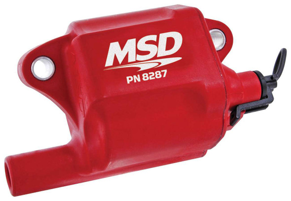 MSD IGNITION MSD8287 GM LS Series Coil - (1) (LS-2/7) Performance Oil Shop