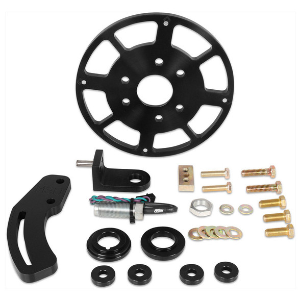 MSD IGNITION MSD86153 Crank Trigger Kit SBC w/8in Wheel Performance Oil Shop