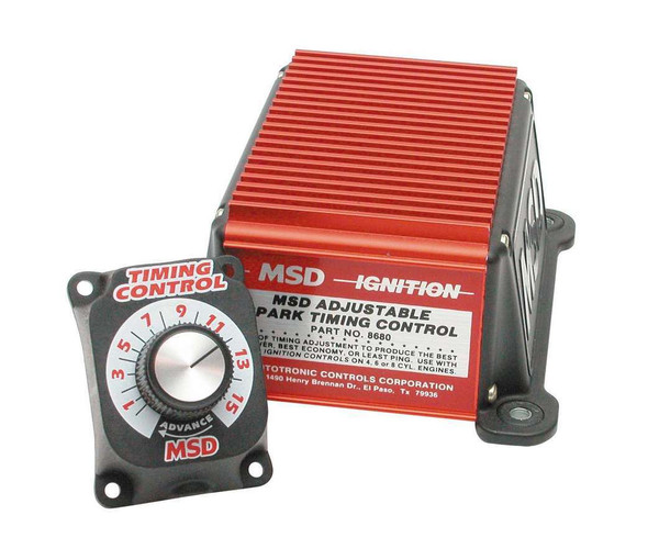 MSD IGNITION MSD8680 Adjustable Timing Contro  Performance Oil Shop