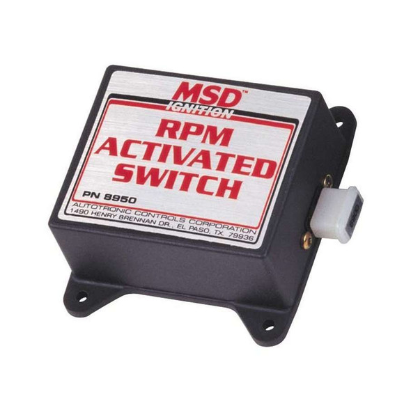 MSD IGNITION MSD8950 Rpm Activated Switch Kit  Performance Oil Shop