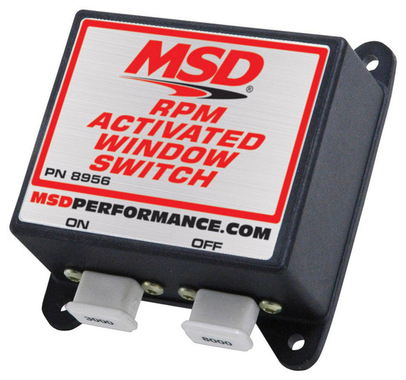 MSD IGNITION MSD8956 RPM Activated Window Switch Performance Oil Shop