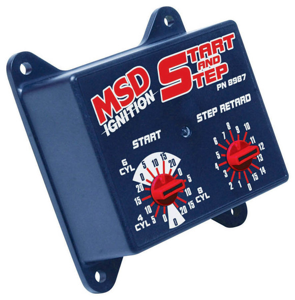 MSD IGNITION MSD8987 Start - Step Timing Control Box Performance Oil Shop