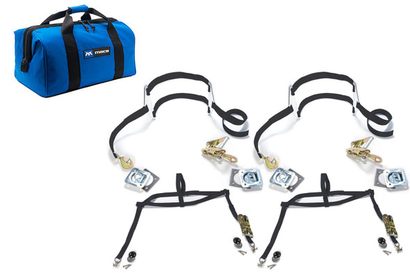 MACS CUSTOM TIE-DOWNS MTD511390 Drag Pack Complete Kit for Tie Down Dragster Performance Oil Shop