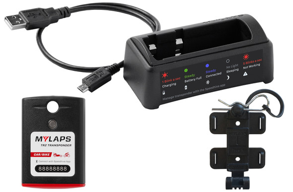 MYLAPS SPORTS TIMING MYL10R901 Transponder T2 Package 1 Year Subscription Performance Oil Shop