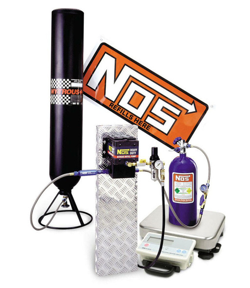 NITROUS OXIDE SYSTEMS NOS14254 Refill Station w/Scale & Regulator Performance Oil Shop