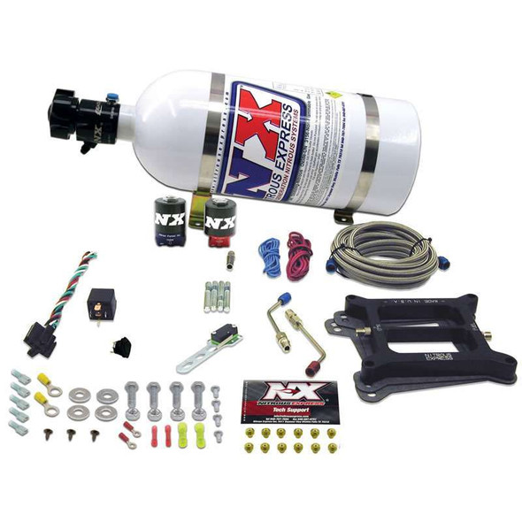 NITROUS EXPRESS NXS30040-10 Stage SIX Nitrous System - 4150 Holley Performance Oil Shop