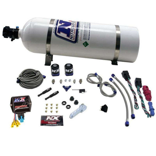 NITROUS EXPRESS NXSNXD4000 SX2D Dual Stage Diesel System w/Mini Controller Performance Oil Shop