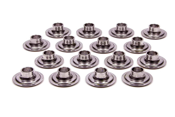 PAC RACING SPRINGS PACPAC-R641 Valve Spring Retainers - Tool Steel (16) Performance Oil Shop