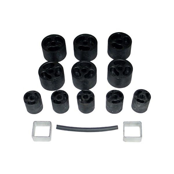 PERFORMANCE ACCESSORIES PRFPA932 86-95 Wrangler 2in. Body Lift Kit Performance Oil Shop