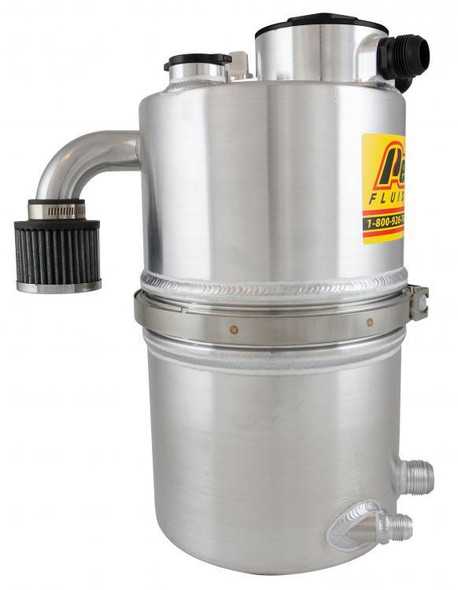 PETERSON FLUID PTR08-9016 Dry Sump Tank DLM 4 Gal. With Filter Performance Oil Shop