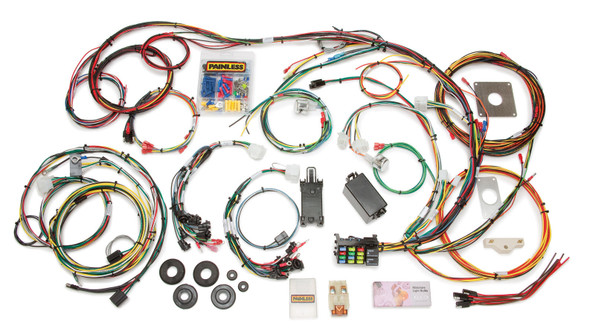PAINLESS WIRING PWI20120 1964-66 Mustang Chassis Harness 22 Circuits Performance Oil Shop