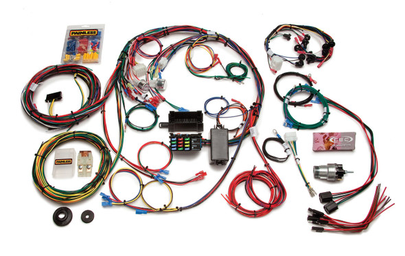 PAINLESS WIRING PWI20121 1967-68 Mustang Chassis Harness 22 Circuits Performance Oil Shop